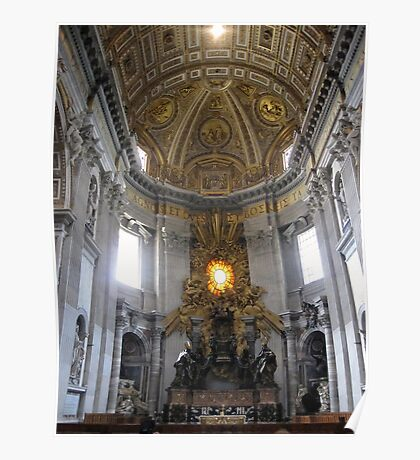 St. Peters Cathedral 2 Poster