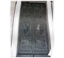 Doors of Europe-St. Peters Poster