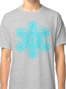 Infinity Cube Light Blue Classic T-Shirt