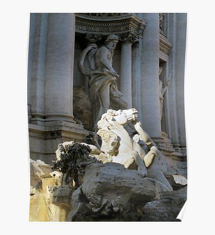 Trevi Fountain 3 Poster