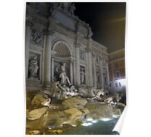 Trevi Fountain 4  Poster