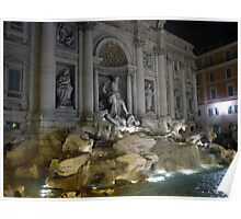 Trevi Fountain 6 Poster