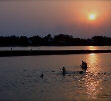 NORTHERN THAI SUNSET by NICK COBURN PHILLIPS