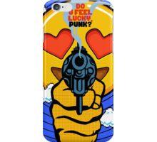 Do U Feel Emoji, Punk? iPhone Case/Skin