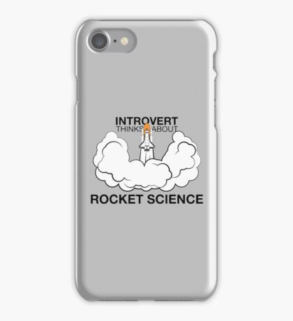 The Power Of Introvert! iPhone Case/Skin