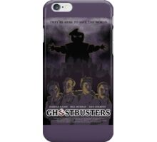 Ghostbusters - Poster Version iPhone Case/Skin
