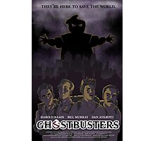 Ghostbusters - Poster Version Photographic Print