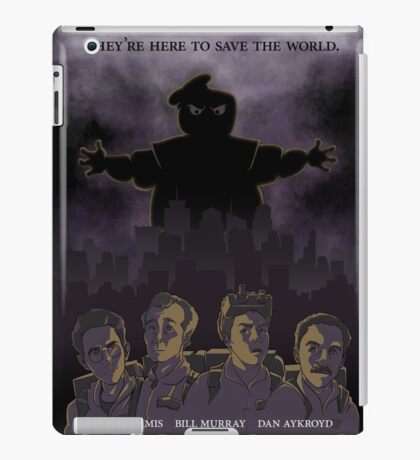 Ghostbusters - Poster Version iPad Case/Skin