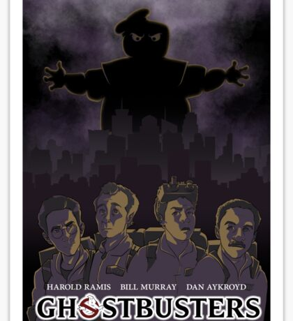 Ghostbusters - Poster Version Sticker