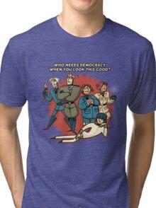 Axis Powers Tri-blend T-Shirt