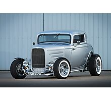 Scott's 1932 Ford Coupe Hot Rod Photographic Print