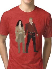 Snow White and her Prince Charming Tri-blend T-Shirt