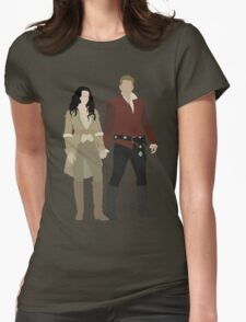 Snow White and her Prince Charming Womens Fitted T-Shirt