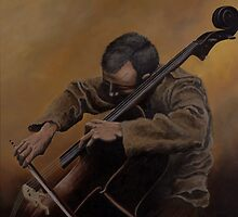 The Cellist by Caleb  Hamm