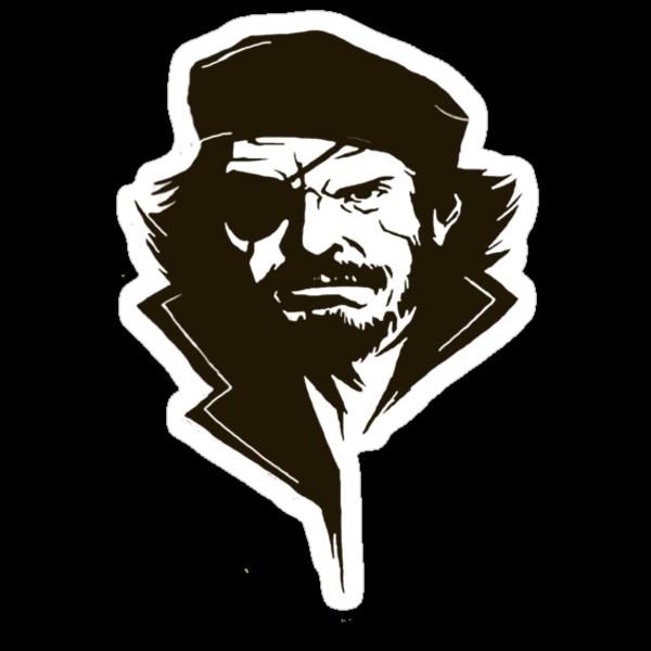 Metal Gear Solid-Big Boss by Brenden Bencharski