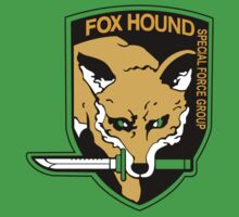Metal Gear Solid-Foxhound symbol by Brenden Bencharski