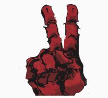 Peaceful hand by Brenden Bencharski