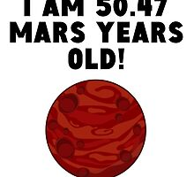 95th Birthday Mars Years by GiftIdea