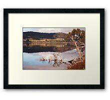 Huon Reflections III Framed Print