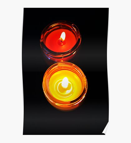 Two Candles  Poster