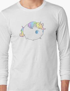 Pastel Unicorn Long Sleeve T-Shirt