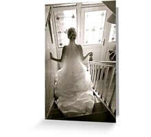 """""""Beauty and Elegance"""" Greeting Card"""