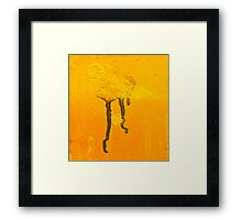 Martian Jellyfish Framed Print