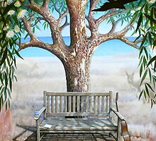 'A Place to Sit'  - Bench in Carrickalinga by Eyes-of-Sol