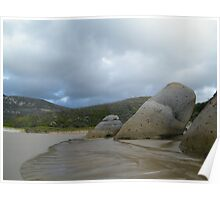 Rock Potatoes, Whisky Bay, Wilson's Promontory Poster
