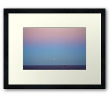 The Eclipse Cometh On Dusk... Framed Print