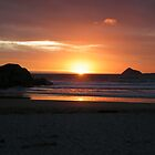 Tangerine Cloud Sunset - Wilson's Promontory  by DavisArk