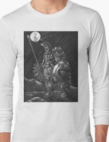 Lost comrades under the moon Long Sleeve T-Shirt