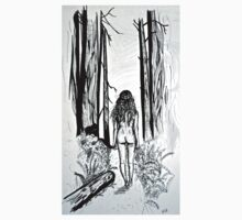 Girl In The Woods One Piece - Long Sleeve