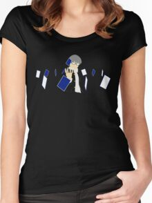 Tarot Cards (Persona 4) Women's Fitted Scoop T-Shirt