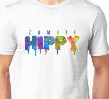 ZombieHIPPY • Logo Typeface TIE DYE Unisex T-Shirt