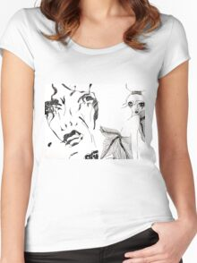 Damsel in Dior Women's Fitted Scoop T-Shirt
