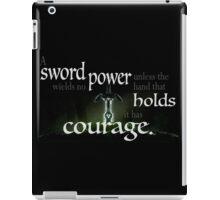 A Sword Wields No Power iPad Case/Skin