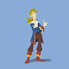 Guybrush Threepwood: Mighty Pirate (tm) 2.0 by RobsteinOne