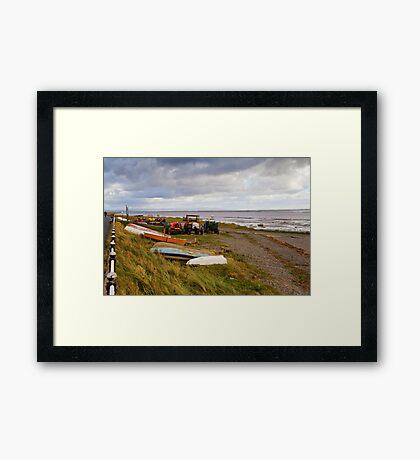 Lytham Beach Framed Print