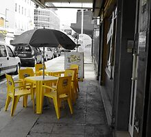 yellow chairs  by SRR3764