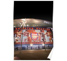 Emirates Stadium Arsenal Football Poster
