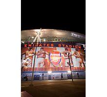 Emirates Stadium Arsenal Football Photographic Print