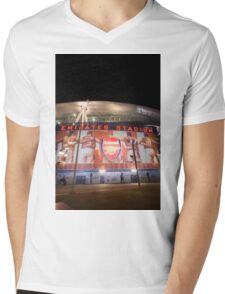 Emirates Stadium Arsenal Football Mens V-Neck T-Shirt