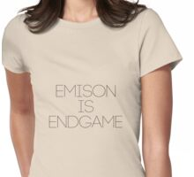 Emison is endgame Womens Fitted T-Shirt