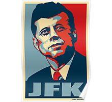 JFK Shepard Hope Style Poster Poster