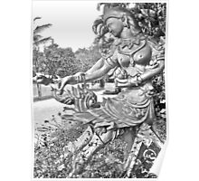 Thai Apsara ~ Mythical Nymph Poster