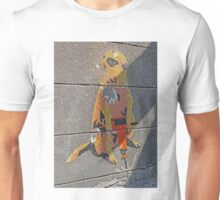 Look Man! There's nuts down here. Unisex T-Shirt