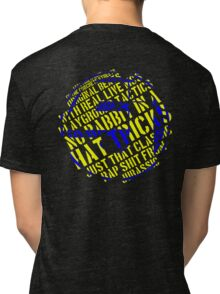 J5 - Concrete Schoolyard Tri-blend T-Shirt
