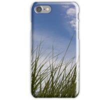 Grass, Clouds, Wind (Vertica) iPhone Case/Skin