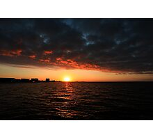 1/1/11 sunrise Photographic Print